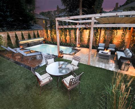 Outdoor Living Space Backyard Living Pools