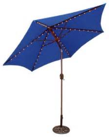 Blue Patio Umbrella Crank Patio Umbrella Blue Contemporary Outdoor Umbrellas By Target
