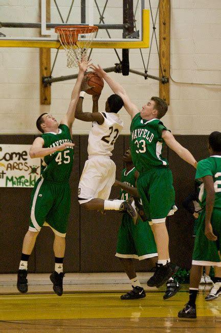 3 And 4 Mba Basketball Mayfield boys basketball brush high school vs mayfield high