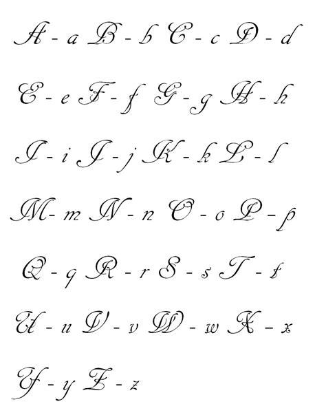 imagenes escrita geniales aprendiendo idioma espa 241 ol abecedario en letra cursiva