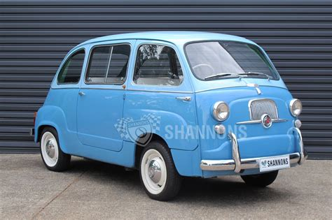 fiat multipla 600 sold fiat 600 multipla wagon rhd auctions lot 21
