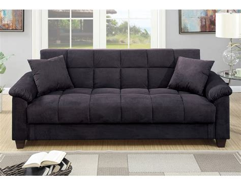 microfiber sofa bed with storage kylie microfiber sofa bed with storage