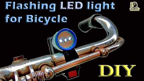 How To Make Lights Flash by How To Make Led Light For Bike Using Transistor