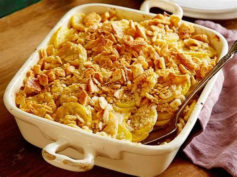 cheesy squash casserole recipe paula deen food network