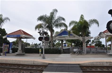 encinitas coaster station stations depots on