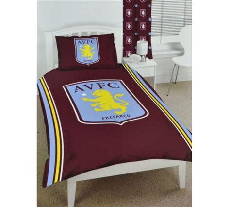 villa bedding aston villa football club bedding single size duvet cover set