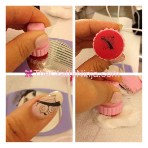 nail art kit tutorial konad sting nail art tutorial the crafty ninja