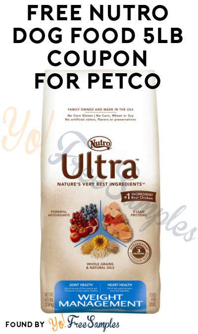 dog food coupons bj s ends today free 4 5lb nutro dog food bag coupon for petco