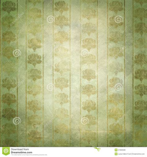 gold victorian wallpaper gold and green grunge victorian wallpaper stock photo