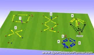 setting drills one person football soccer ball control technical ball control u9
