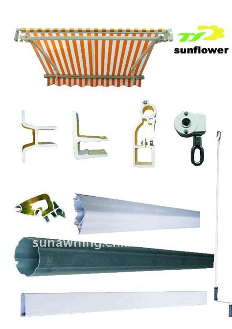Metal Awning Parts by Retractable Awnings Parts Buy Aluminum Awning Parts