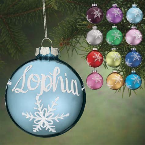 ornaments personalized balls personalized birthstone glass ornament kimball