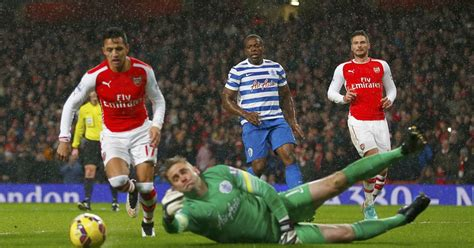 alexis sanchez vs qpr revealed how qpr s eduardo vargas correctly predicted