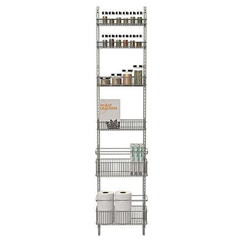 over the kitchen organizer org premium over the door steel frame pantry organizer