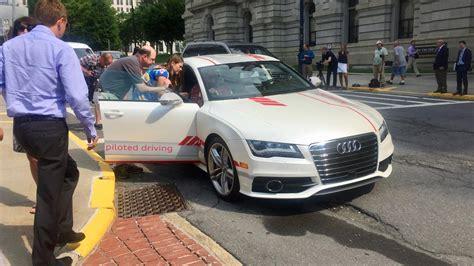 albany ny audi audi of america tests self driving car in albany ny