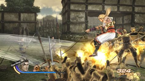 gan siege handful of fighters from dynasty warriors 7 screen