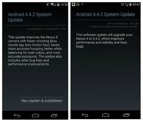 tutorial android update get android 4 4 2 on your nexus install tutorial androidpit