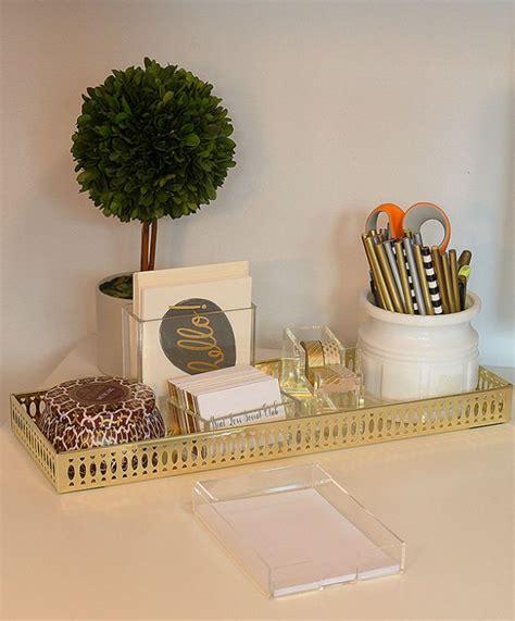 desk decor 1000 ideas about gold desk accessories on pinterest