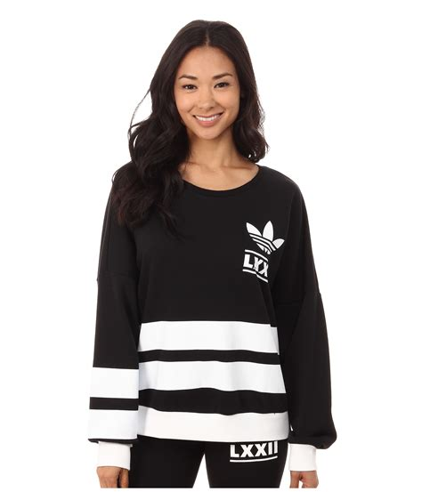 Sweater Adidas 3 Colors adidas originals berlin logo 3 stripes crew sweater in