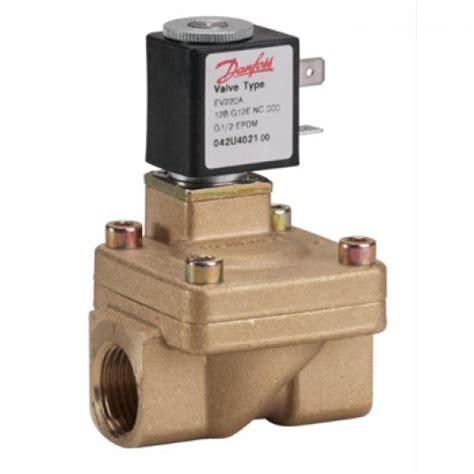 Selenoid Valve 24vdc 042u403102 danfoss ev220a 18b g34e nc000 am024vdc solenoid valve m and m controls danfoss asco