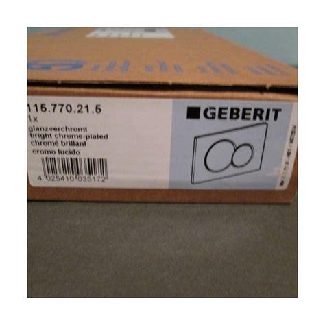 placca per cassetta geberit geberit placca di comando sigma01 cromata 115 770 21