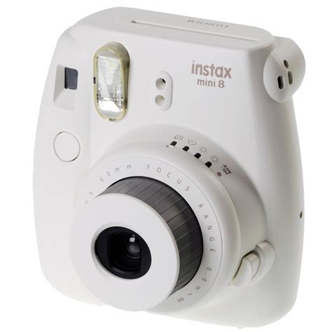 Fuji Instax Mini 8 by Fuji Instax Mini 8 Instant Photo White Instant