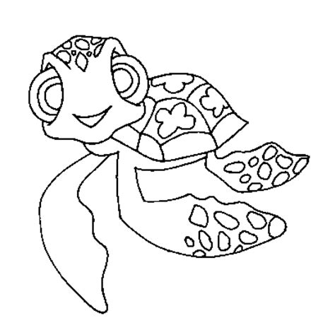coloring pages of squirt from finding nemo finding nemo coloring squirt page