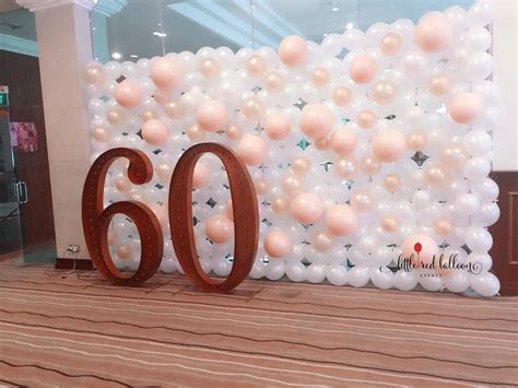 Wedding Backdrop Balloons by Balloon Backdrops Balloon Singapore