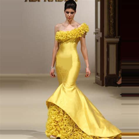 Vestido De Partido Frisado Formal Amarelo Plissado Dos Vestidos De   Car Interior Design