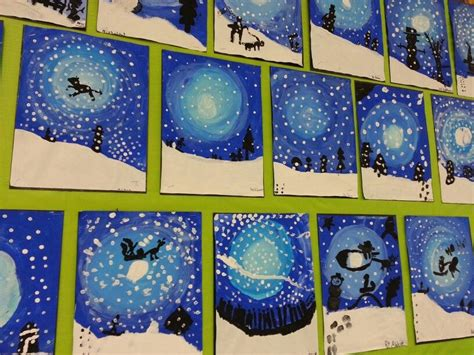 elementary school craft projects winter fabulous student classroom ideas