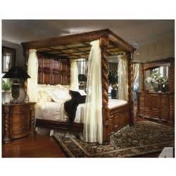 King Size Canopy Poster Bedroom Sets King Size 4 Poster Bedroom Set For Sale In Finley