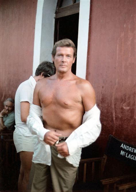Dr James Barnes File Roger Moore At The Sets Of Sea Wolves Jpg Wikimedia