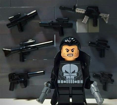 Bootleg Lego The Punisher 1 the punisher daredevil season2 the punisher lego