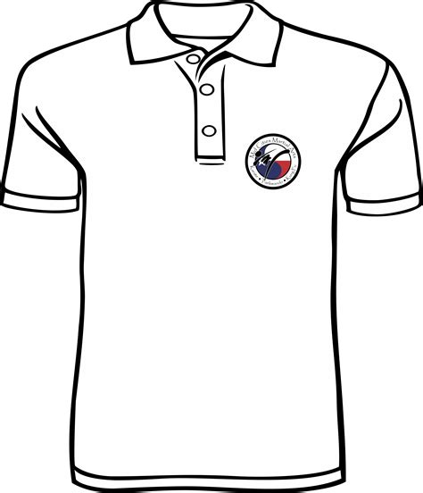 how to draw a polo shirt clipart best