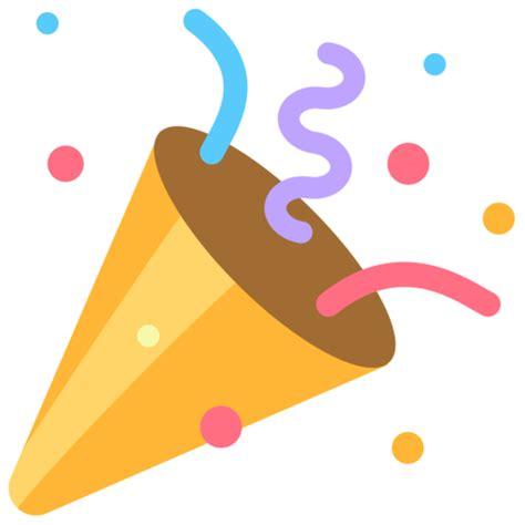 celebration emoji cotillons emoji