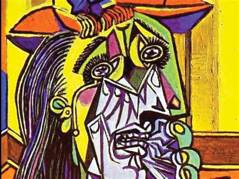 picasso paintings weeping the weeping arts culture the pacific northwest