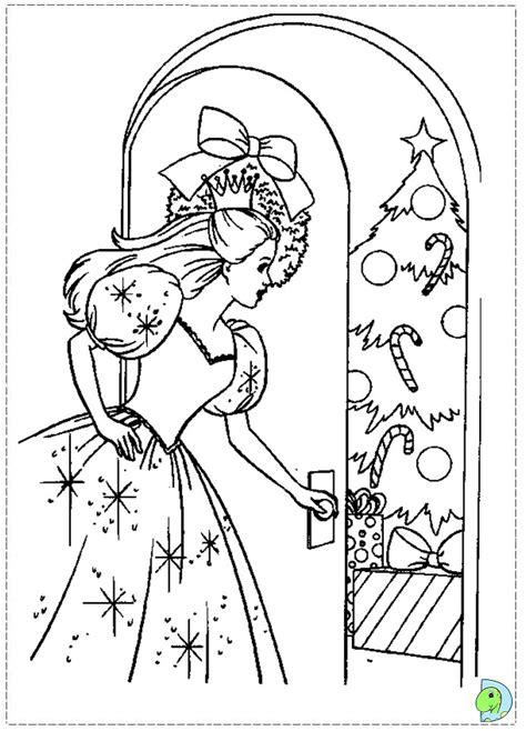 coloring pages barbie nutcracker how to draw barbie nutcracker
