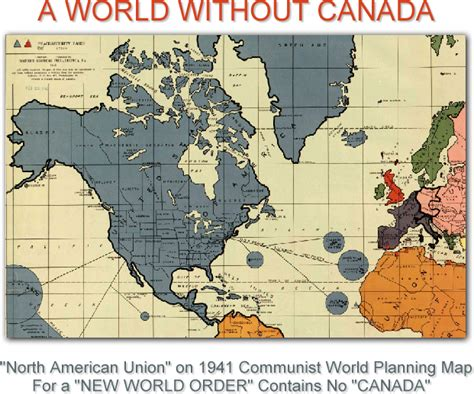 world map with country name canada about