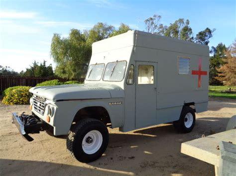 1964 dodge power wagon ambulance straight 6 4speed 4x4 1963 dodge d200 3 4 ton 4x4 power wagon ambulance runs
