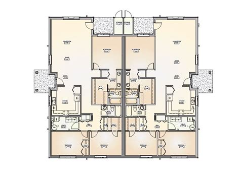 floor plan for duplex house duplex floor plans narrow lot duplex house plans narrow