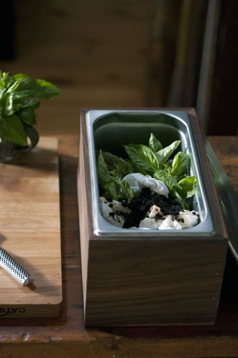 diy walnut countertop compost bin local kitchen craft pinterest walnut countertop countertop diy compost bin