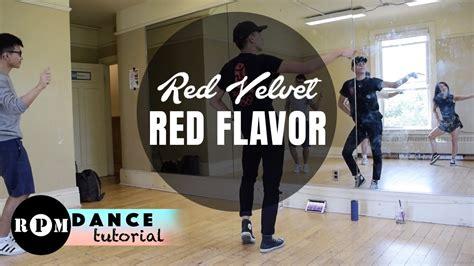 tutorial dance red velvet red velvet quot red flavor quot dance tutorial pre chorus chorus