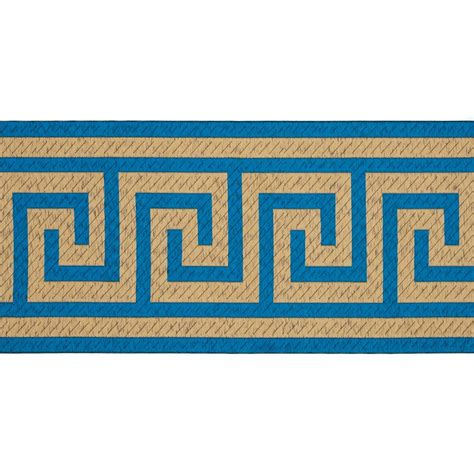greek key home decor 6 quot woven home decor greek key tape teal discount