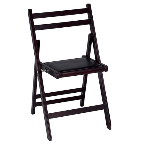 Costco Wooden Folding Chairs by Cosco 4 Pack Wood Slat Padded Folding Chairs Mahogany