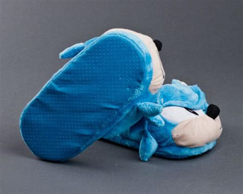 sonic slippers sonic the hedgehog slippers sega slippers