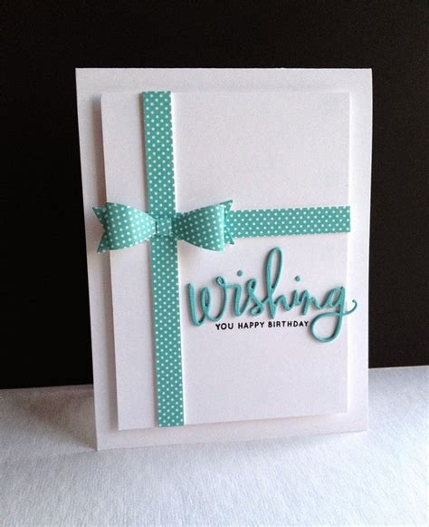 Handmade Cards Using Ribbon - 271 best images about stin up birthday cards on
