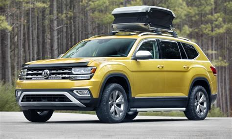 vw atlas volkswagen atlas is a great deal for a large three row