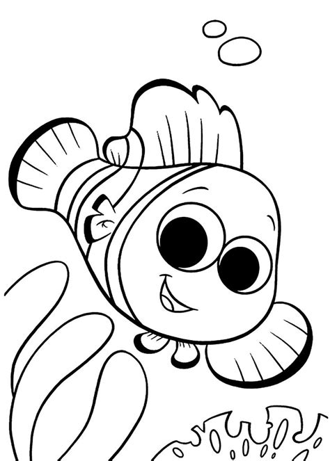 finding nemo coloring pages  kids printable