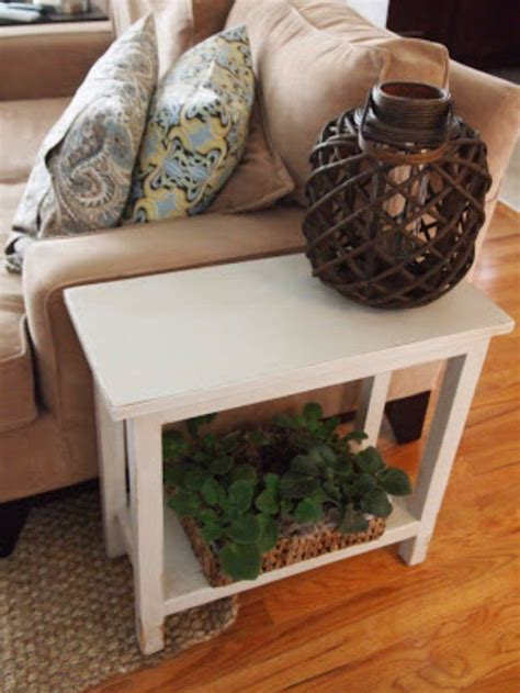 Diy Bedroom End Table Best 25 Living Room End Tables Ideas Only On