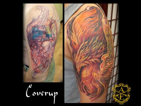 phoenix tattoo cover up 28 best images about cover up and re work tattoos by sean